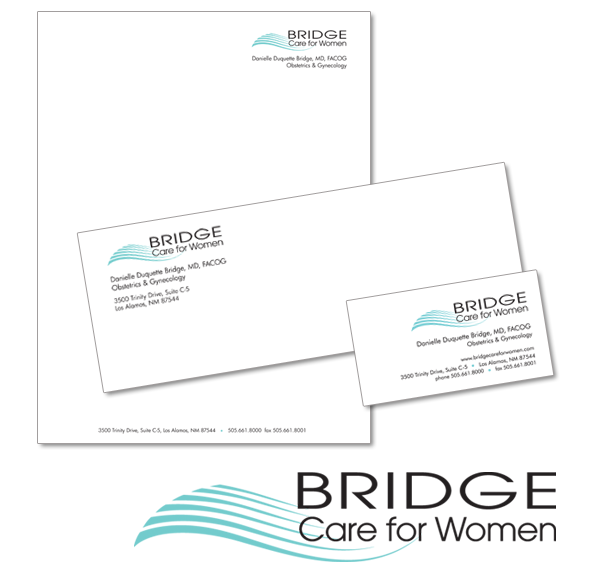 Bridge Care for Women logo and letterhead