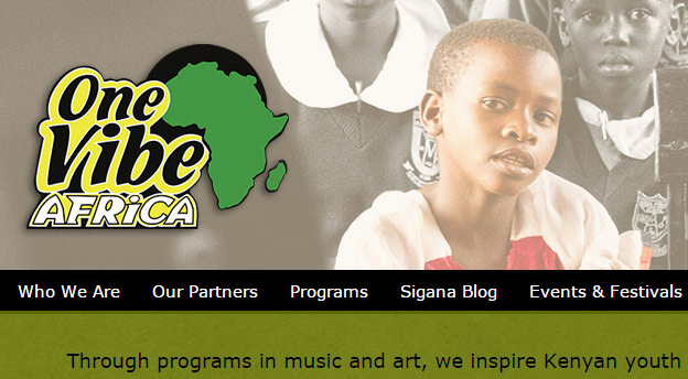 One Vibe Africa Website